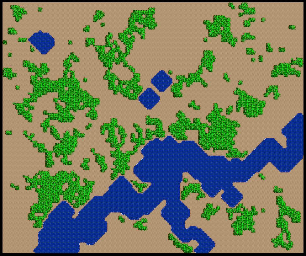SimCity SNES Map 010