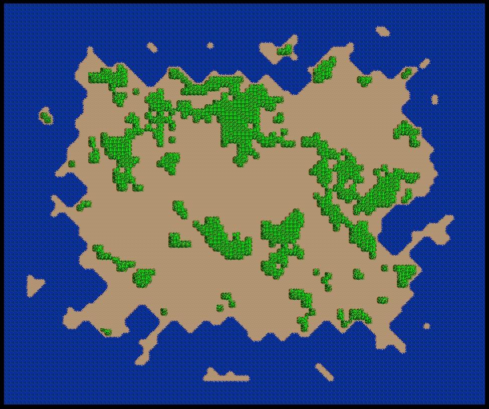 SimCity SNES Map 016