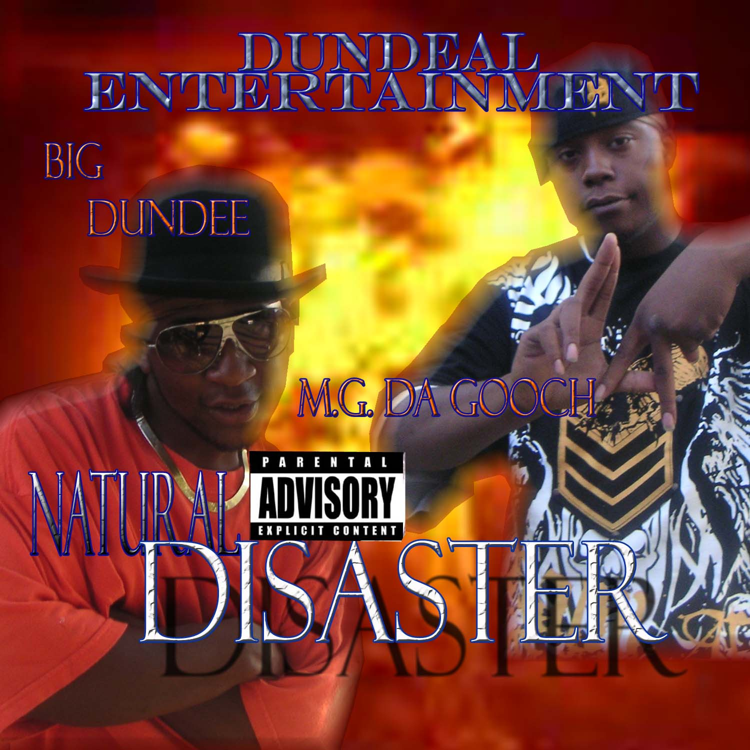 natural disaster cd cover