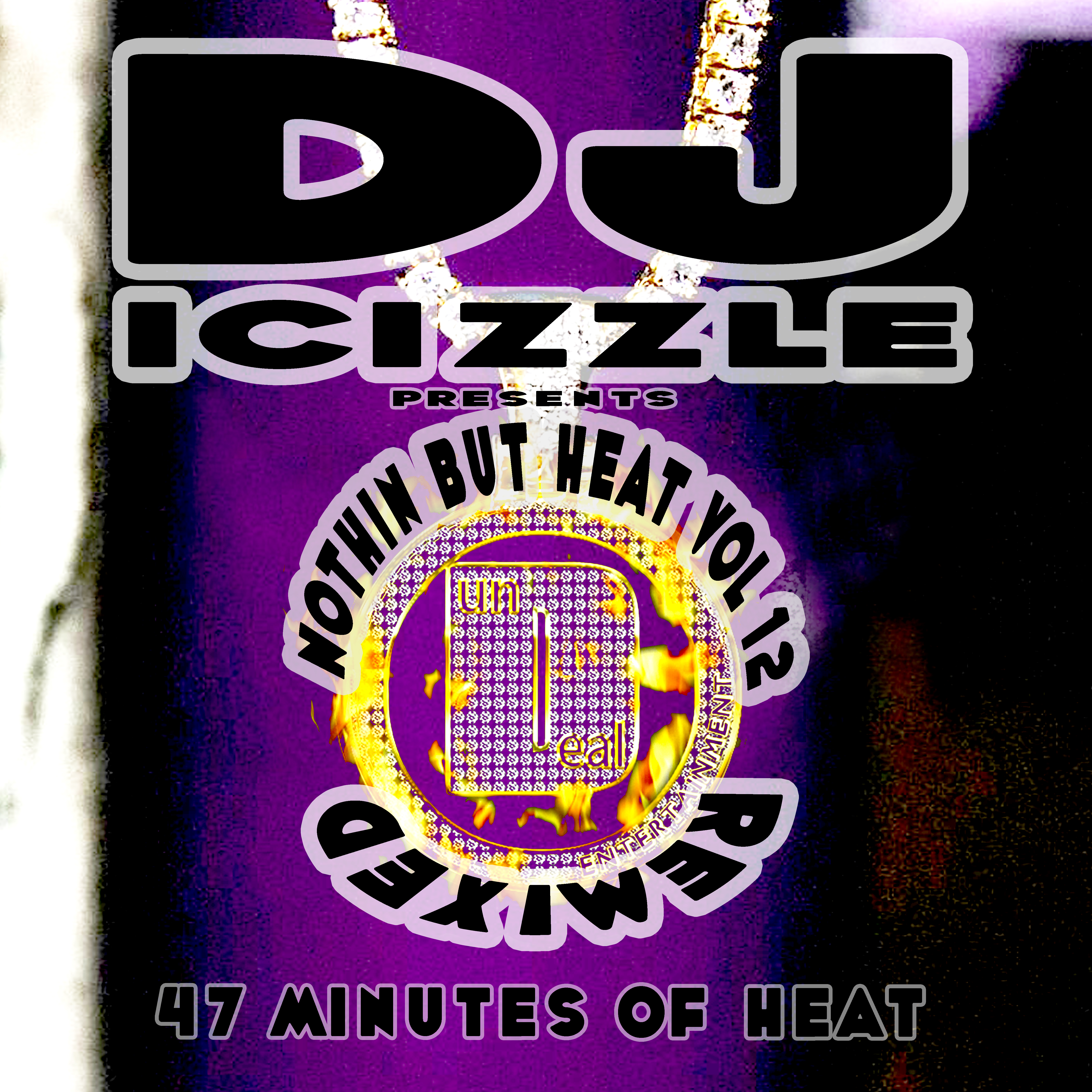 Nothin But Heat Vol 12 Cover - DJ iCizzle