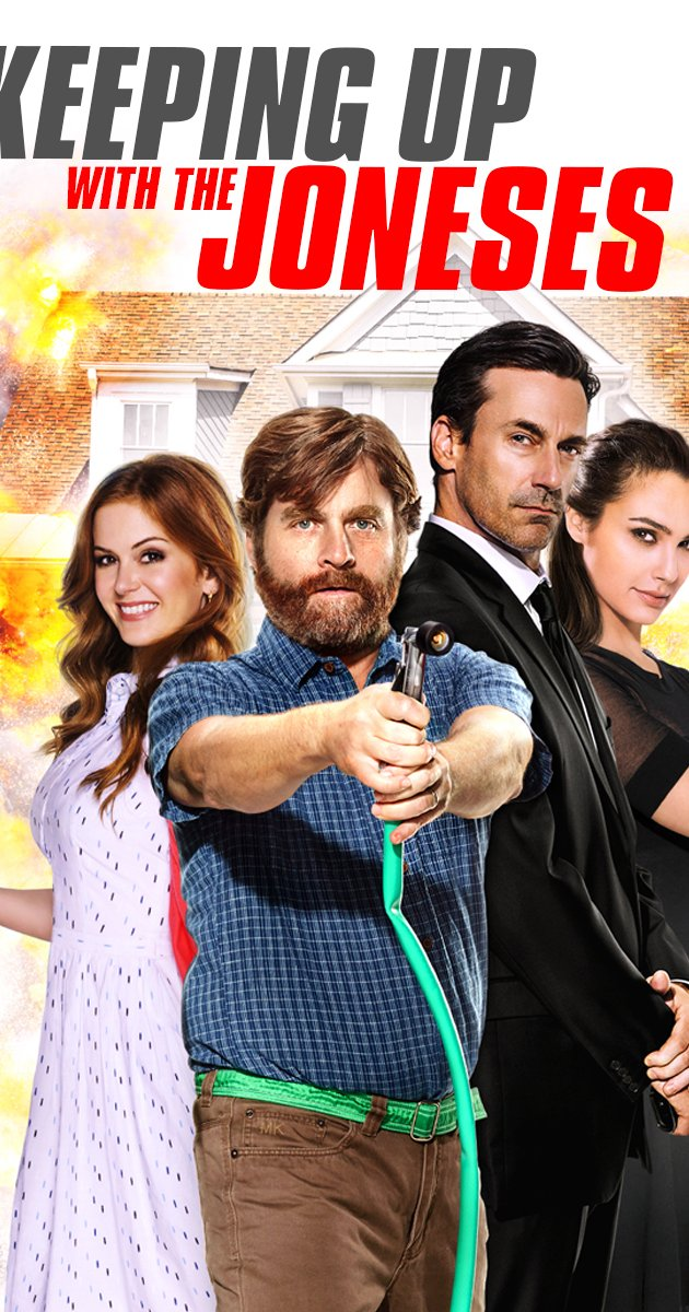 Keeping Up with the Joneses (2016) gets 0 snores!