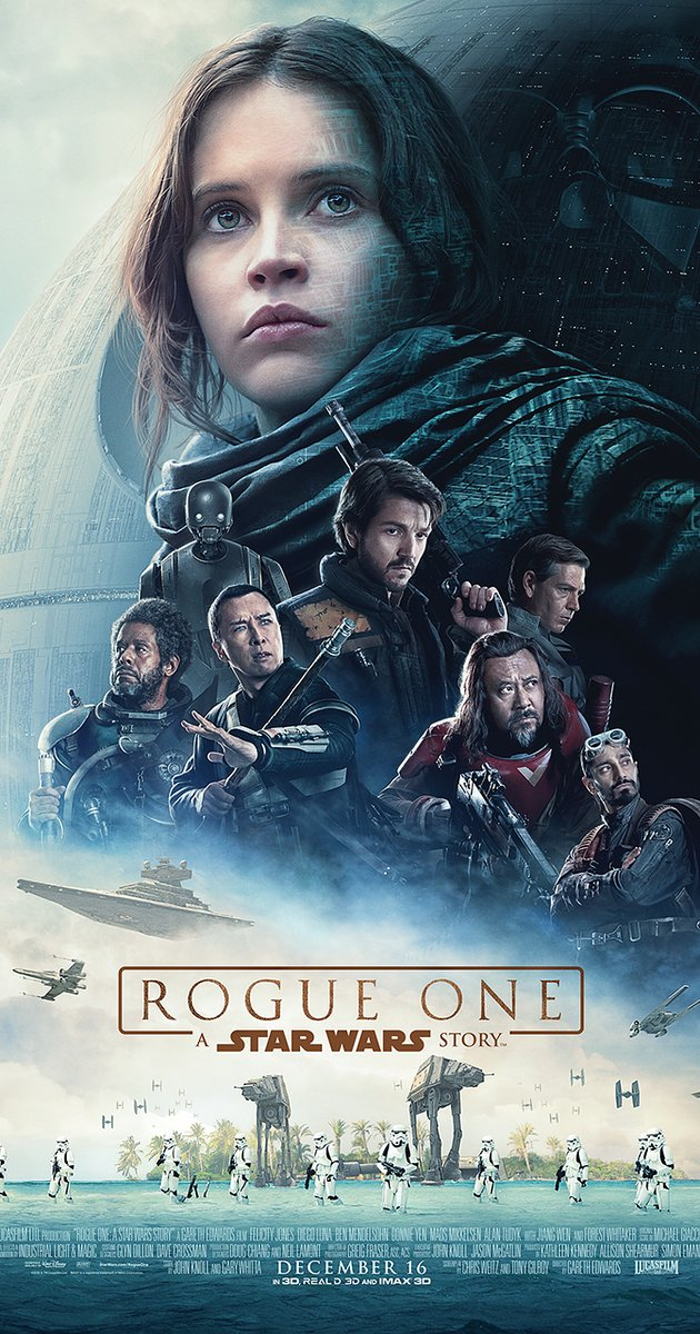 Rogue One: A Star Wars Story gets 1 snore out of 5!