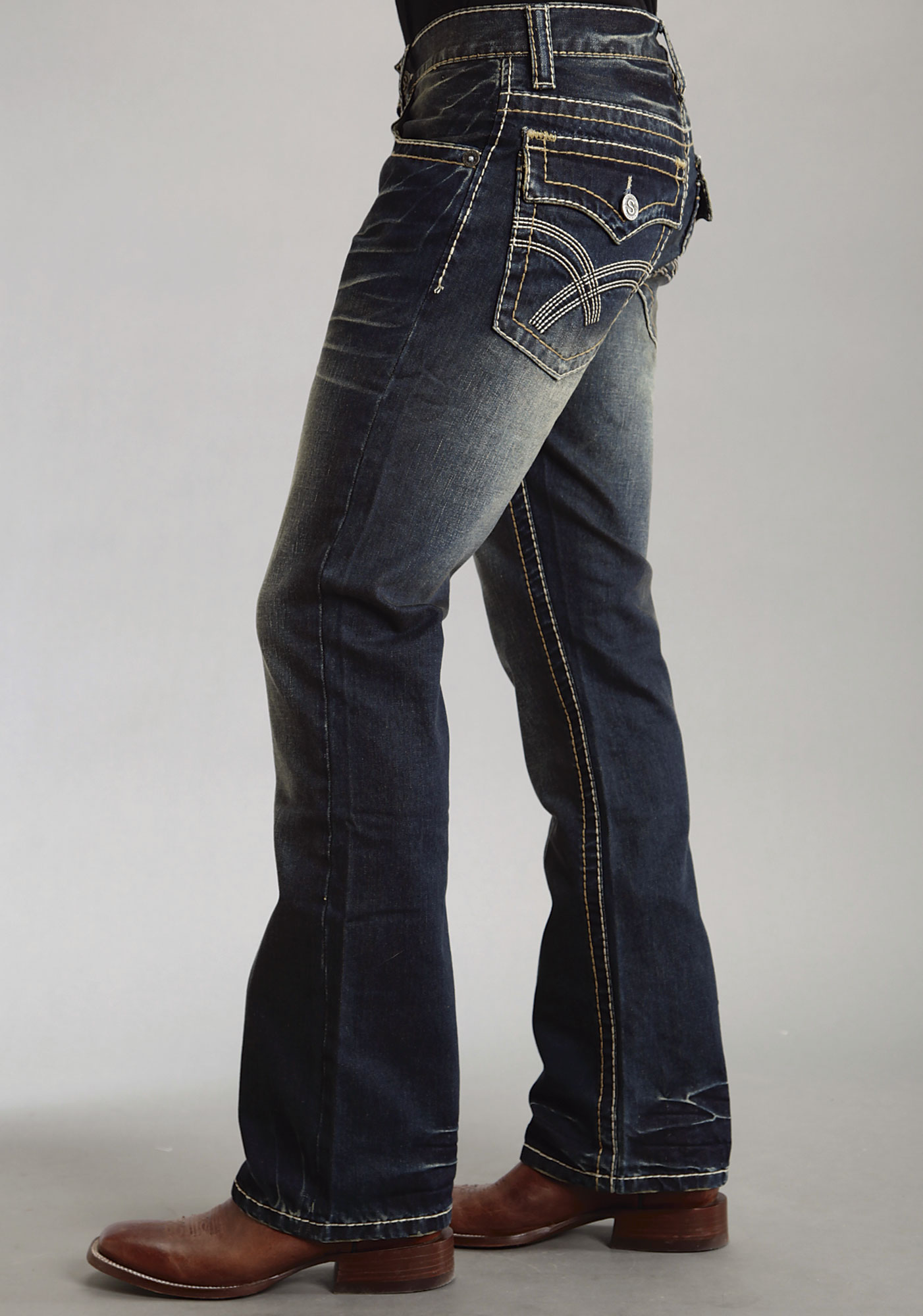 Blue. Gray. Beige. Multi. White. Green. Other. Assorted. See more colors. Price $ to $ Go. Men's Regular Fit Boot-Cut Jeans. Product - Women's Plus-Size 4-Pocket Stretch Bootcut Jeans, Available in Regular and Petite Lengths. Best Seller. Product Image. Price $ Product Title.
