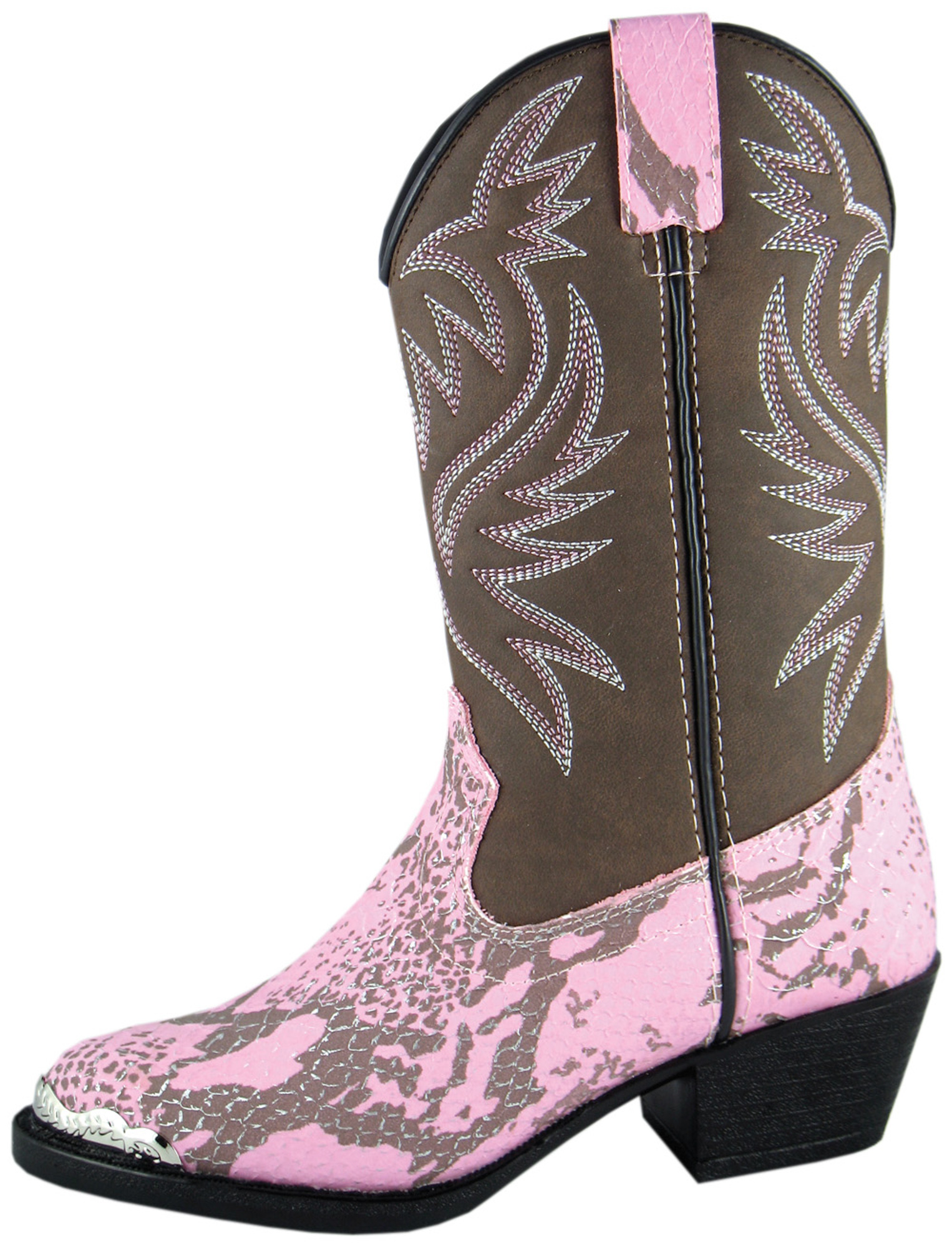 Smoky Mountain Kid S Cody Faux Snake Print Western Boots