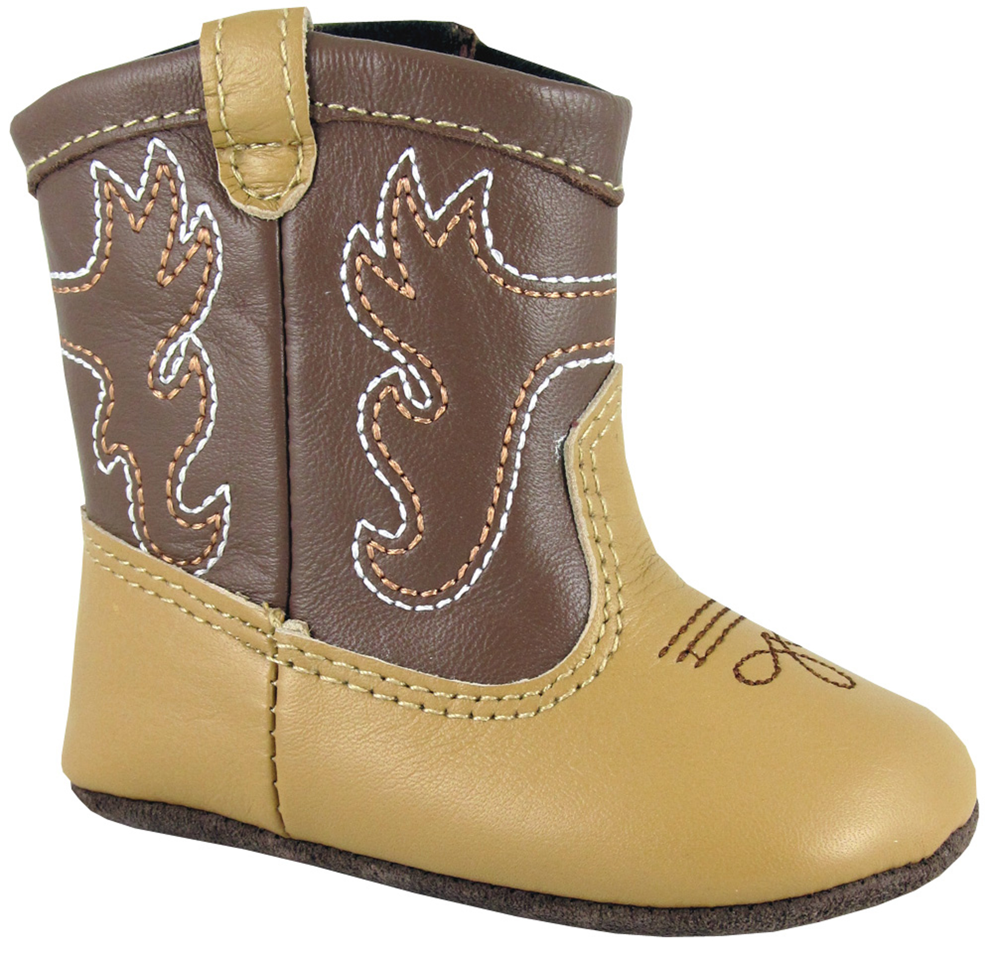smoky mountain boots infant boys baby doe brown