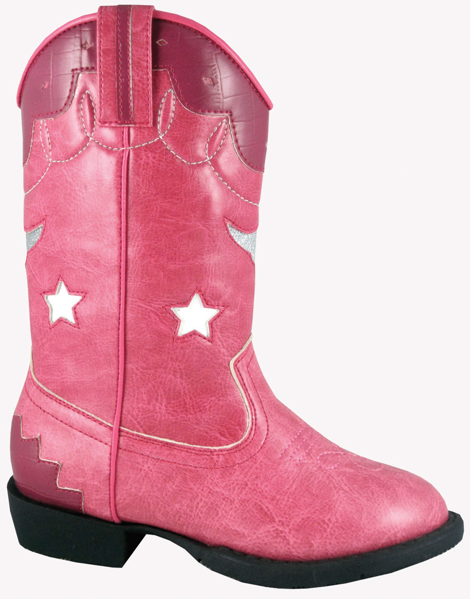 smoky mountain boots toddler lights pink faux