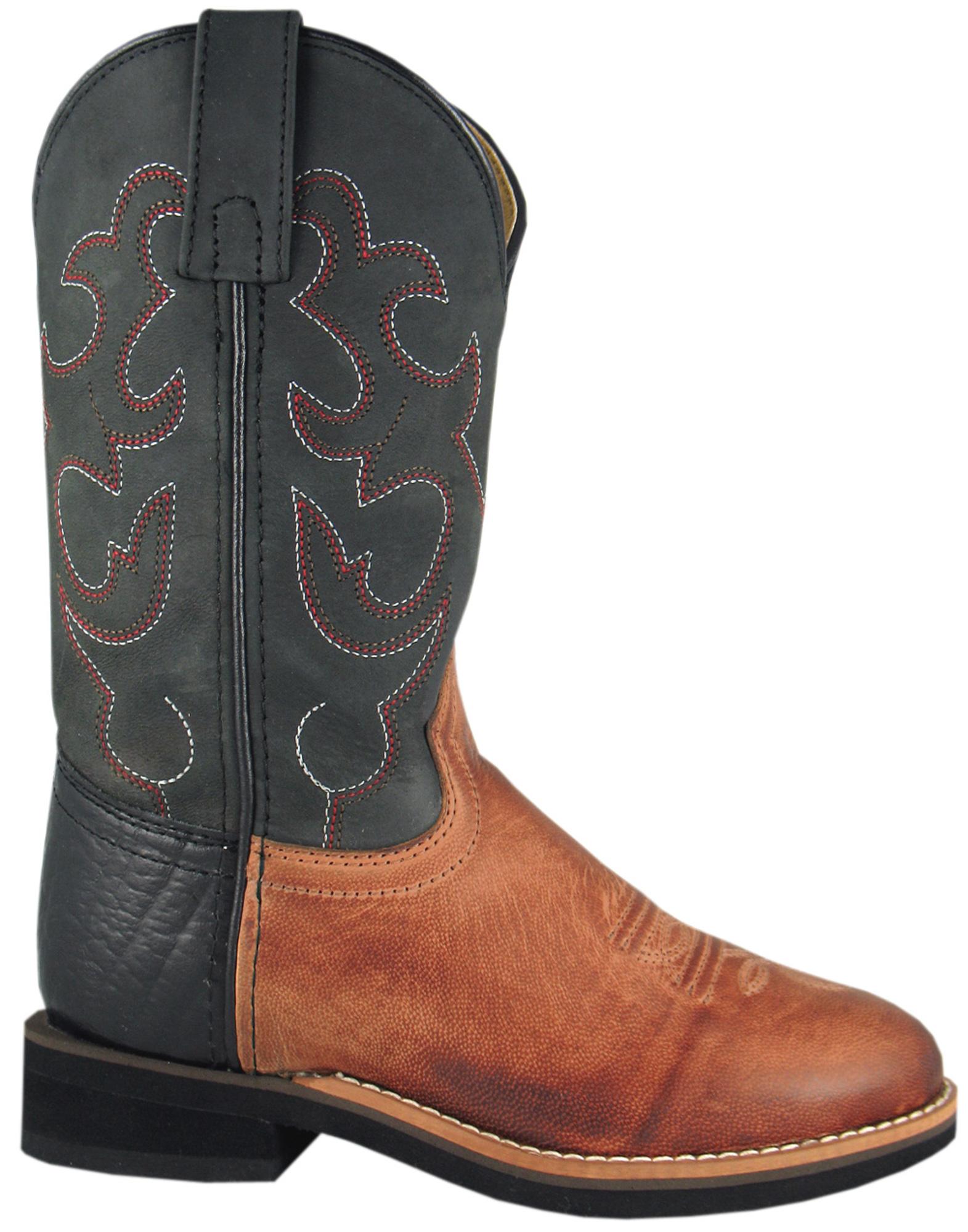 smoky mountain boots toddler boys seminole bomber brown