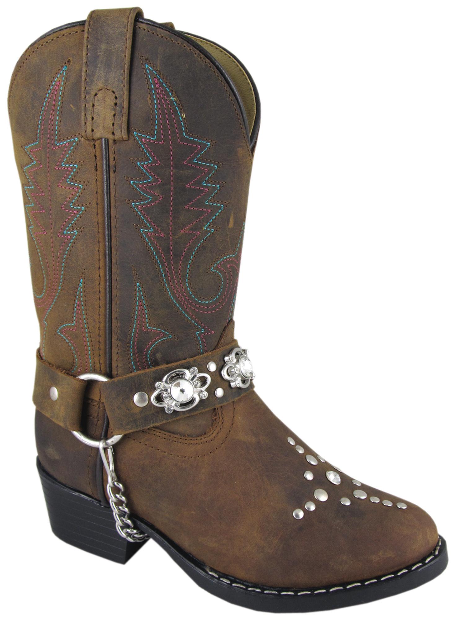 smoky mountain boots children starlight brown