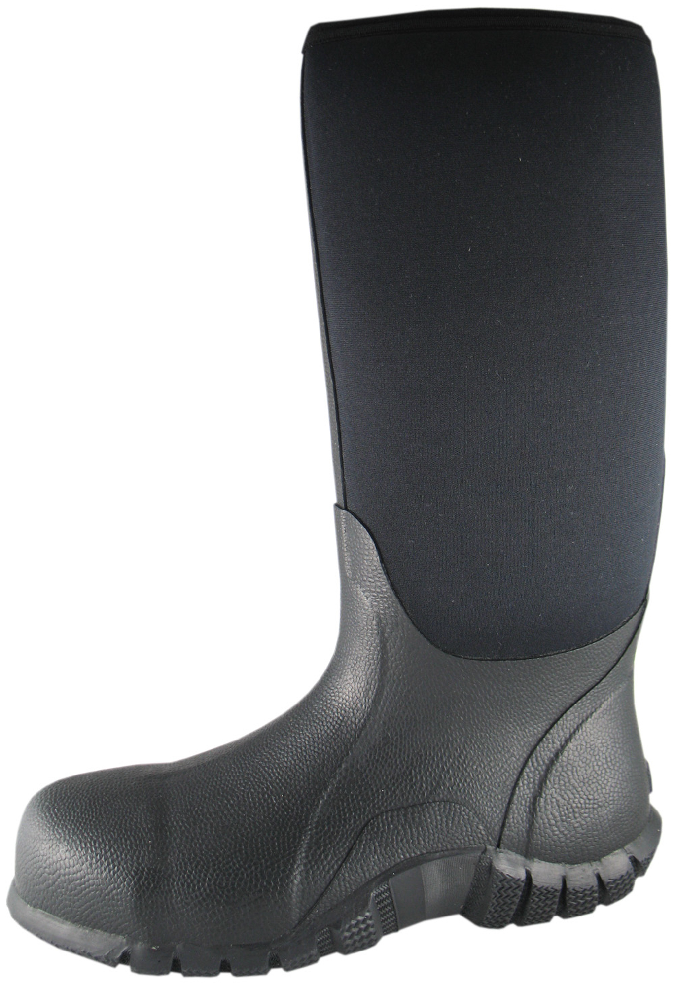 smoky mountain boots mens safety hibian black rubber
