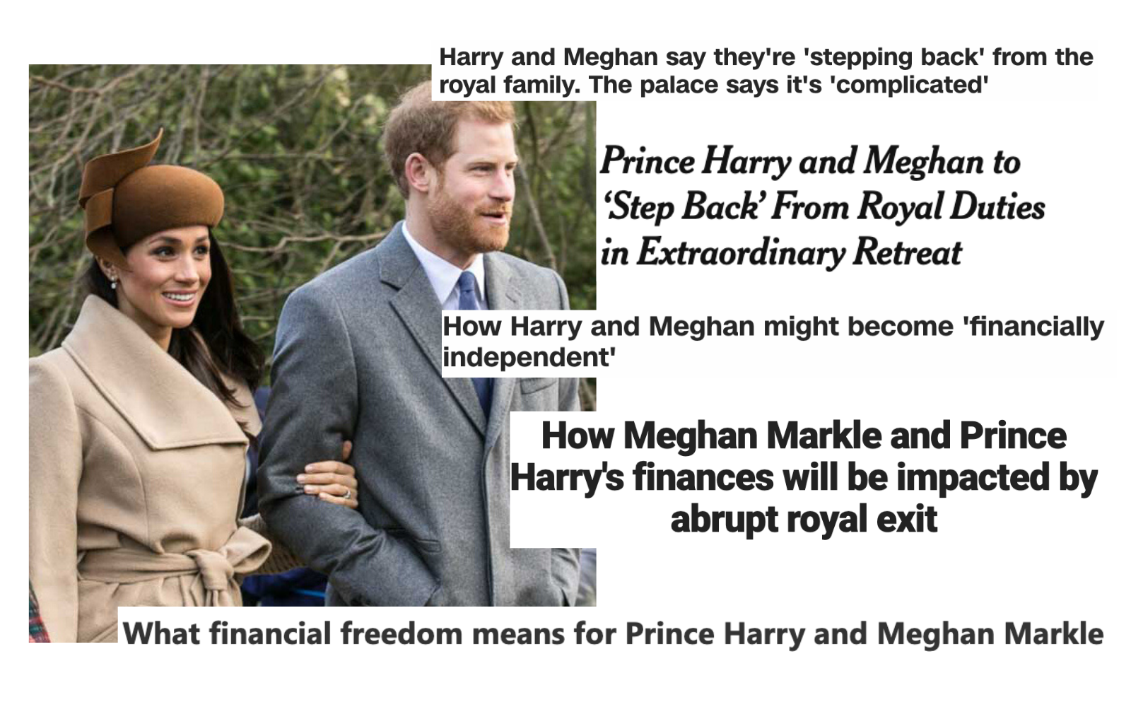 Meghan and Harry to retire from royalty. What does that even mean?