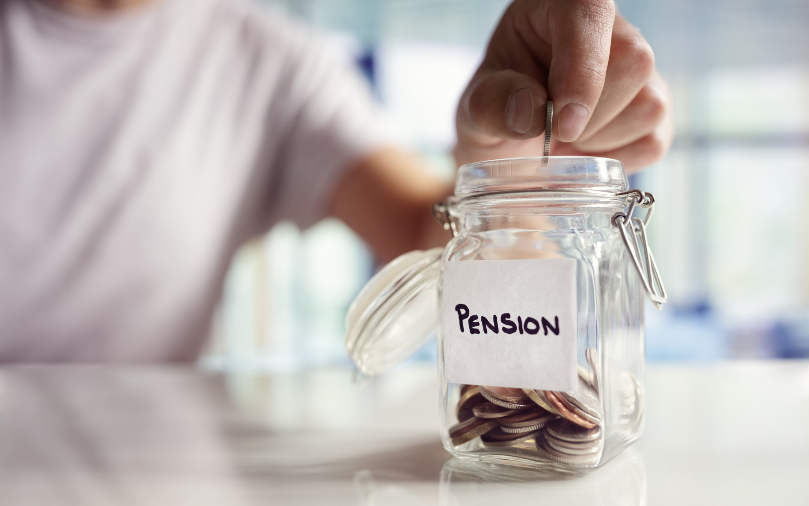 Don't Just Count On Your Pension Plan For Retirement. Why You Need To Save More.
