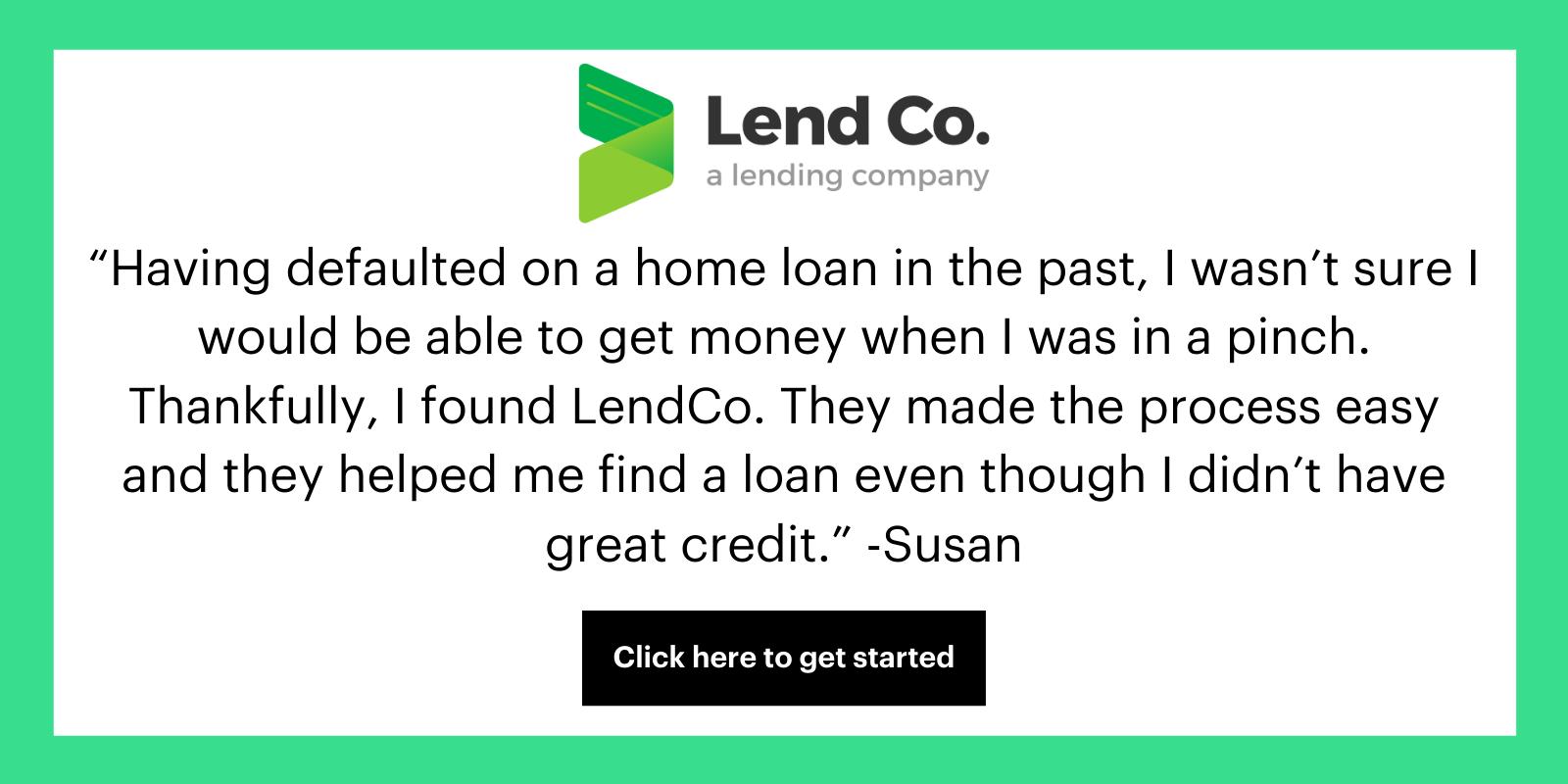 LendCo Testimonial