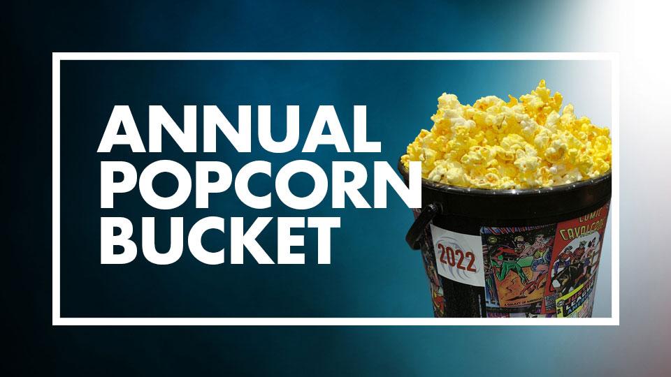 Eagle Theaters Annual Popcorn Bucket