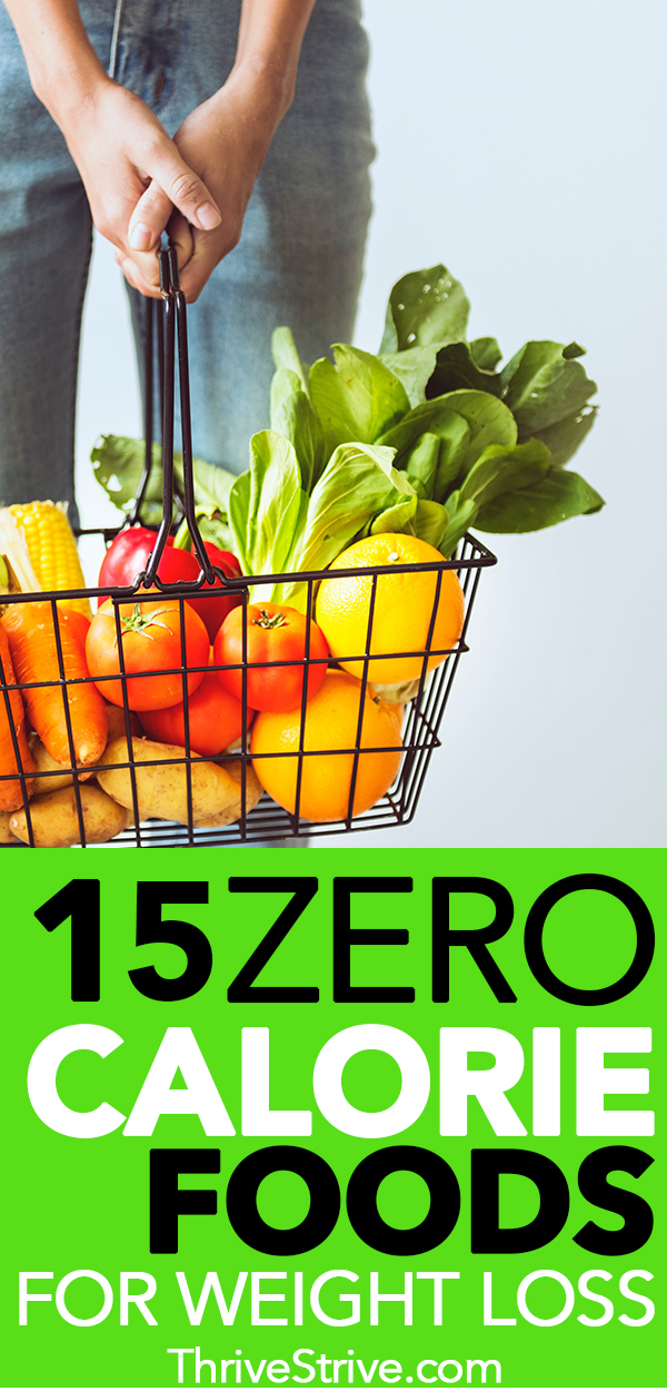 15 Zero Calorie Foods That Will Help You Lose Weight
