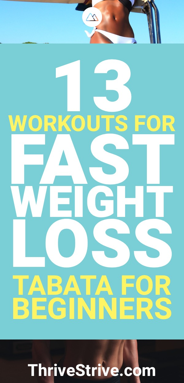 Tabata For Beginners 13 Workouts Fast Weight Loss