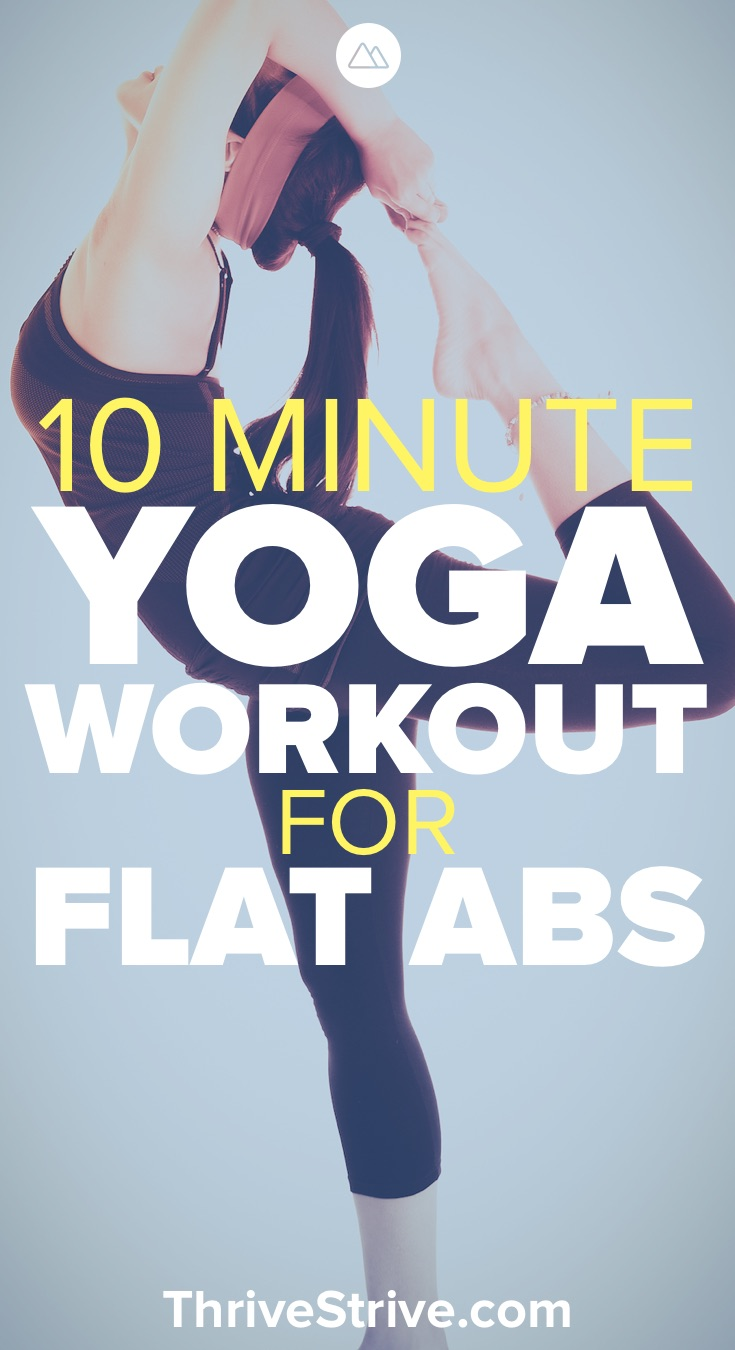10 Minute Beginner Yoga Workout For Stronger Abs