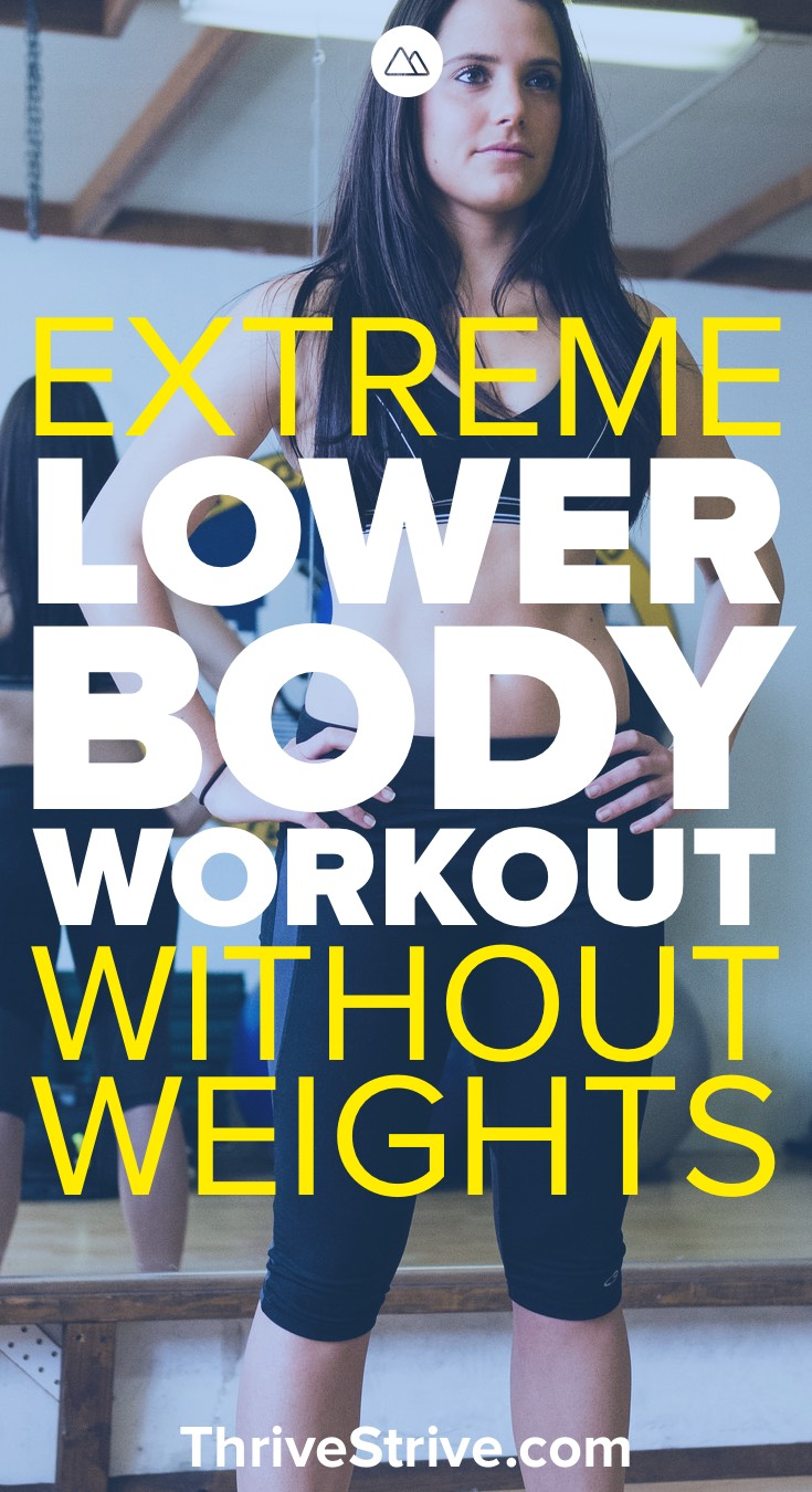 Lower Body Transformation Burn Workout Without Weights 90 Minute Full Circuit Sexy And I Know It Pinterest Share On