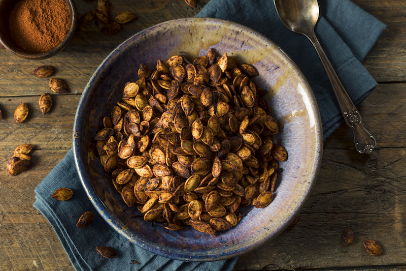 eat pumpkin seeds to burn fat
