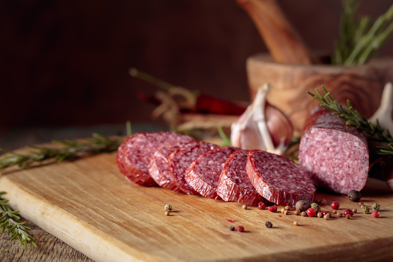 classic salami and cheese to lose weight and burn fat