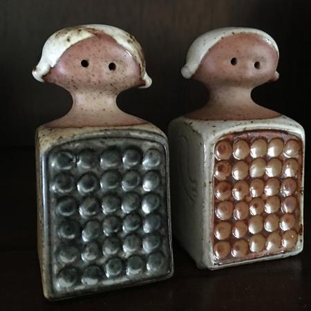 Japanese Little People Salt & Pepper