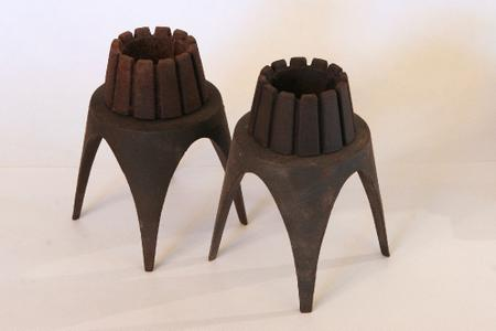 Ironika Designs Iron Arch Cast Iron Candelabras