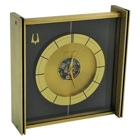 1961 Bulova Accutron Desk Clock
