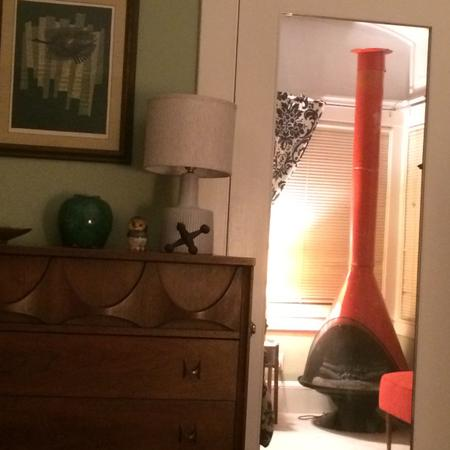 Cone Electric Fireplace