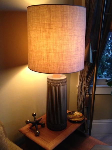 Martz Sgraffito Lamp #233