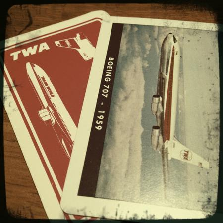 TWA / Boeing Card Decks (2)