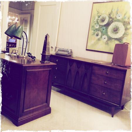 Brasilia Lowboy Dresser