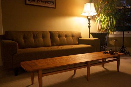Lane Surfboard Coffee Table