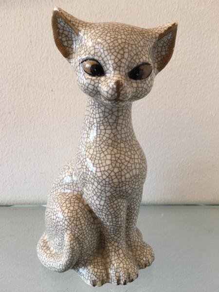 Cracked Ceramic Cat