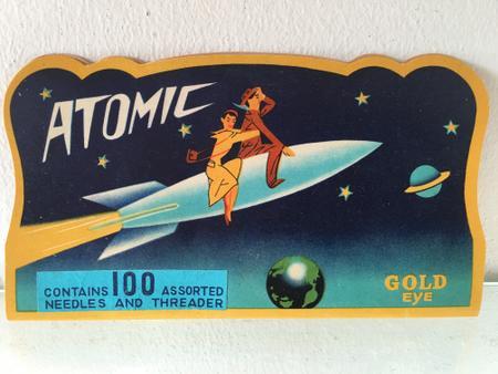 Atomic Gold Eye Needle Set