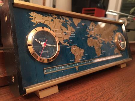 Bulova World Clock