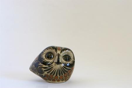 Mexican Pottery Owl