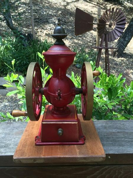 John Wright Double Wheeled Coffee Mill
