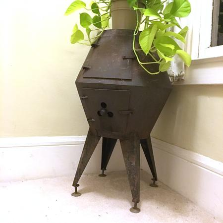 Atomic Pot Belly Stove
