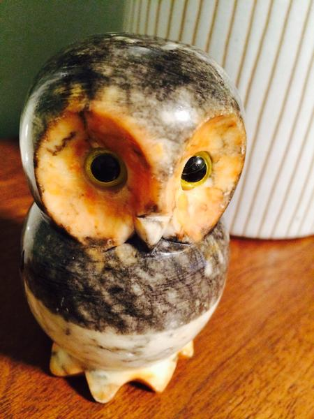 Alabaster Owl, My owl