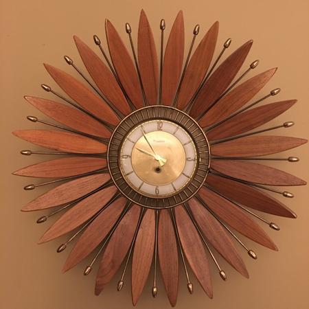 Forestville Sunflower Clock