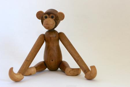 Wooden Danish Monkey