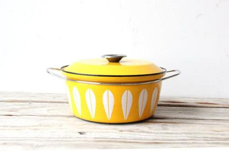 Cathrineholm Yellow Stock Pot