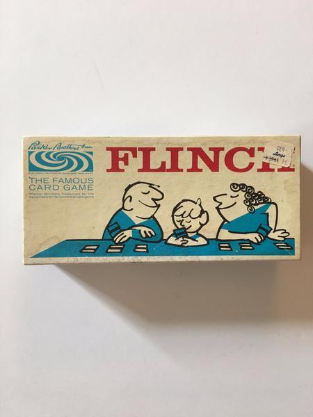 Flinch Card Game 1963 Parker Bros