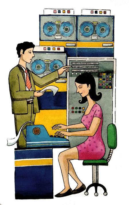 International Business Machines (IBM), Artist: Vallabh Namshikar Copyright © 2016 keereo inc. All Rights Reserved.