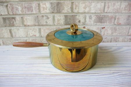 El Dorado Gold & Turquoise Pan