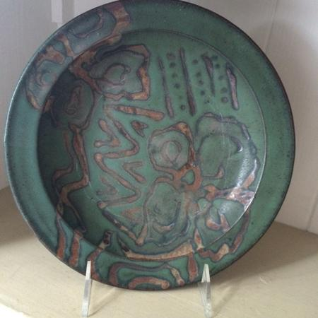 Abstract Design Plate