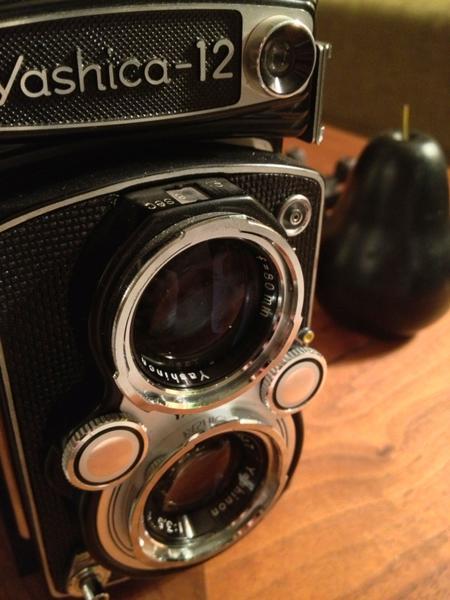 Yashica Medium Format Camera