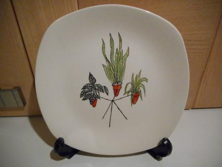 MidWinter Stylecraft Plant Life Plates