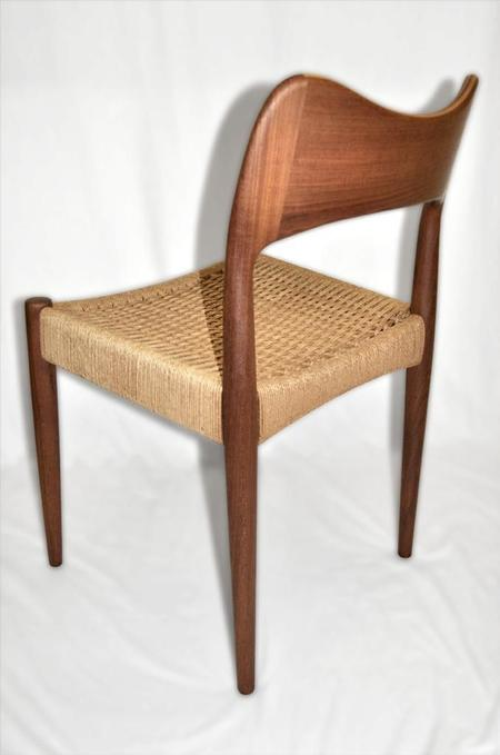 Teak Paper-Cord Chair