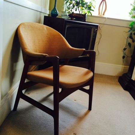 Teak Inmar Relling Arm Chair