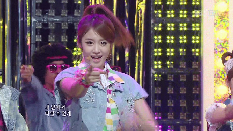 T-ara Roly Poly @ SBS INKIGAYO (07/10)_2